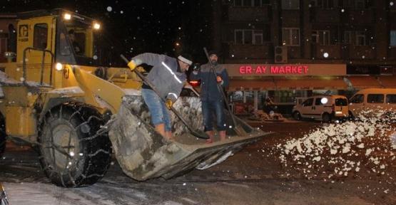 Havza'da kar ile mücadele