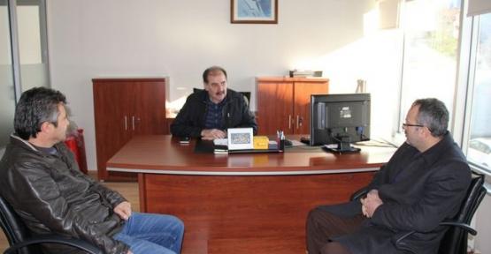 Ak Parti İlçe Başkanı Karahan'a Geçmiş Olsun Ziyareti