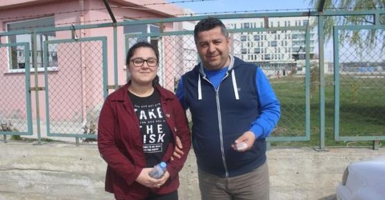Baba Kız Aynı Binada Sınava Girdi
