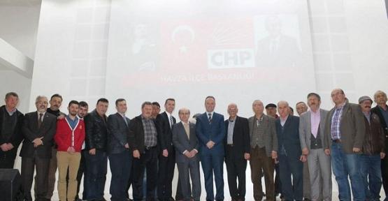 CHP Havza İlçe Örgütü Danışma Kurulu Toplantısı Yapıldı