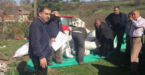 Çiftçilere 2 Ton Nohut Tohumu Dağıtıldı