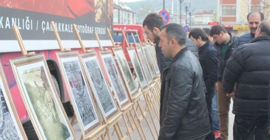 Gezici Çanakkale Fotoğraf Sergisi Havzada