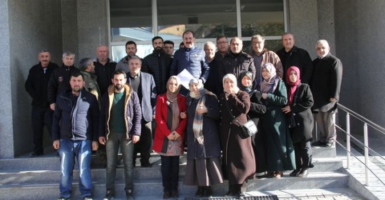 Havza Ak Parti İlçe Teşkilatından, Kılıçdaroğlu Hakkında Suç Duyurusu