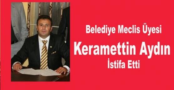 Havza Belediye Belediye Meclis Üyesi Keramettin Aydın İstifa Etti