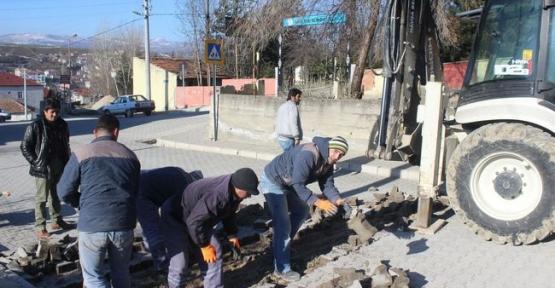 Havza Belediyesi Okul Güzergahlarına Kasis Yapıyor