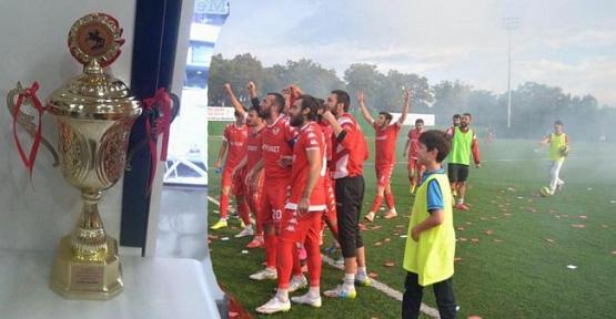 Havza Belediyespor Süper Amatör Kupasını Aldı