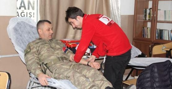 Havza İlçe Jandarma Komutanlığından Kan Bağışı Kampanyası