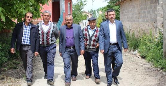 Havza Kaymakamı Alper Tanrısever Karga Mahallesini Ziyaret Etti