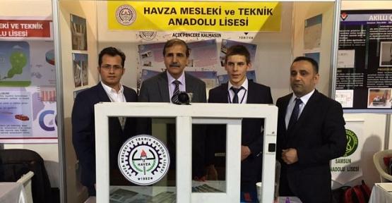Havza Mesleki Teknik Anadolu Lisesi Tübitak Projelerinde Finale Kaldı