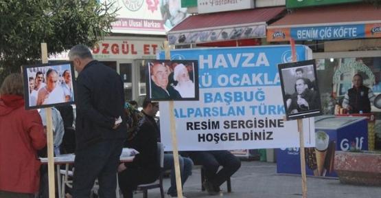 Havza'da Alparlan Türkeş Resim Sergisi Açıldı