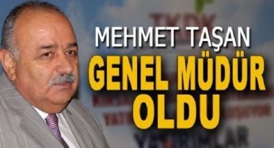 Hemşerimiz Mehmet Taşan Tarım İşletmeleri Genel Müdürü Oldu