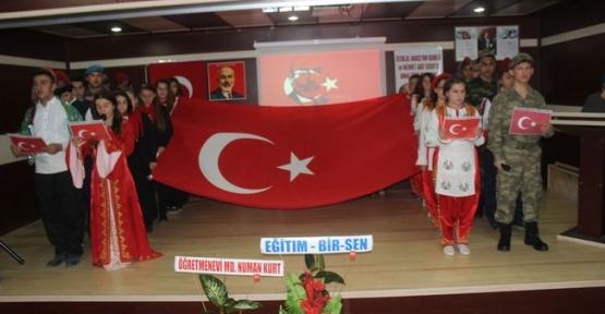 İstiklal Marşının Kabulü ve Mehmet Akif Ersoy Anma Programı Düzenlendi
