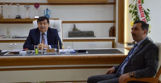 Kavak Belediye Başkanı Sarıcaoğlu'ndan Havza Belediyesine Ziyaret