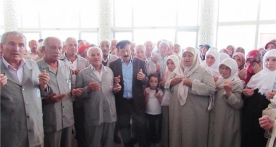 Kavak'tan Hacca Gidecek 28 Hacı Adayı Uğurlandı