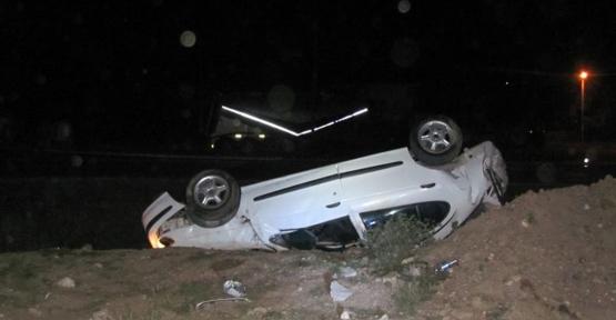 Ladik İlçesinde Trafik Kazası