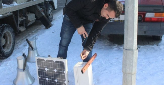Mahallelere Güneş Enerjisi ile Çalışan Anons Cihazları Konuluyor