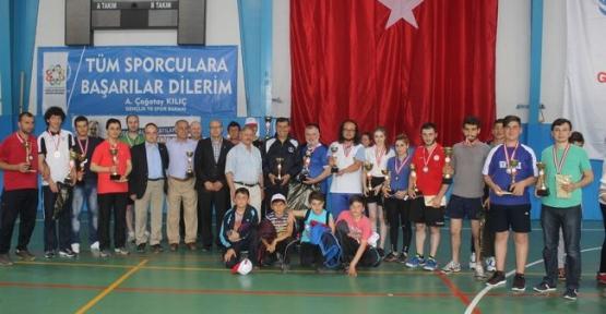 Havza'da 2. Masa Tenisi Halk Turnuvası Yapıldı