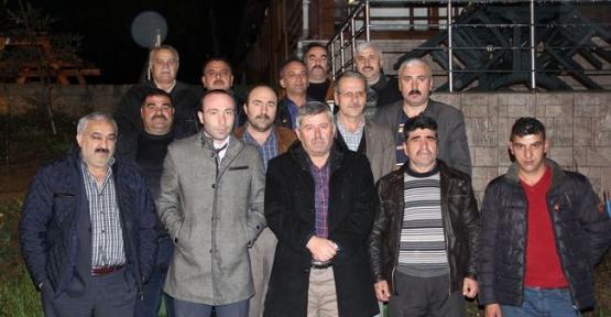 MHP İl Başkanı Taner Tekin İç Bölge Teşkilatları ile Yemekte Buluştu