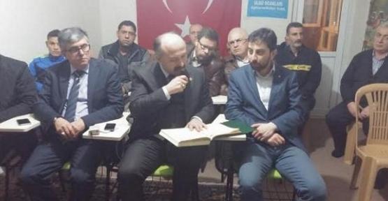 MHP Milletvekili Erhan Usta şehitler için Kuran-ı Kerim okudu