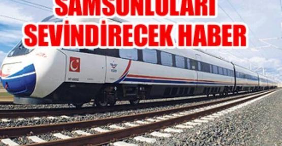 Samsun - Ankara Hızlı Tren Güzergâhı Açıklandı
