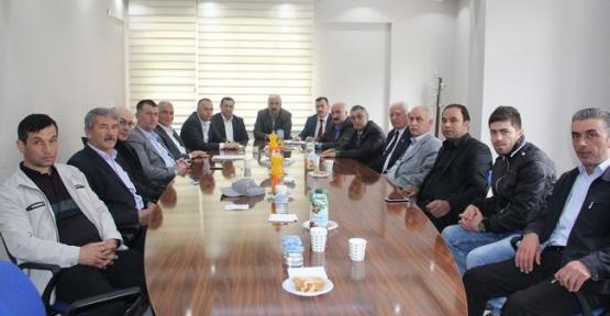 Samsun Ziraat Odaları İl Koordinasyon Toplantısı Havza'da Yapıldı