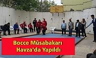 Bocce Müsabakarı Havza'da Yapıldı