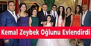 Kemal Zeybek Oğlunu Evlendirdi