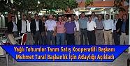 Mehmet Tural Başkanlık İçin Adaylığı