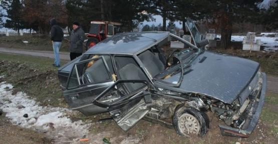 Trafik Kazası  5 Yaralı