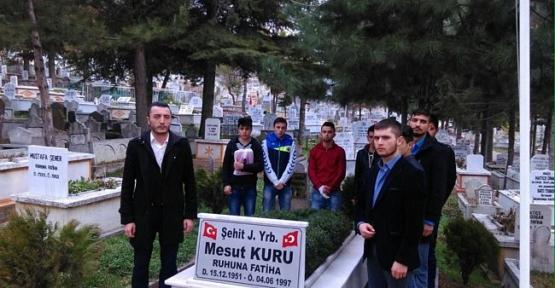 Ülkücü Gençlik Her Hafta Bir Şehidi Dua İle Anıyor