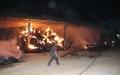 Havzada Samanlık Yangını 300 Ton Saman Yandı