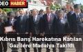 Kıbrıs Barış Harekatına Katılan Gazilere Madalya Takıldı