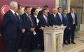 Kemal Zeybek ile bir grup CHP milletvekili Mecliste basın toplantısı düzenledi