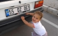3 Yaşındaki Havzalı Minik Herkül Görenleri Şaşırttı